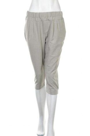 Pantaloni de femei Kaffe, Mărime S, Culoare Gri, 68% poliester, 28% viscoză, 4% elastan, Preț 325,66 Lei