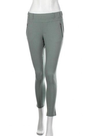 Pantaloni de femei Kaffe, Mărime XS, Culoare Verde, 68% poliester, 28% viscoză, 4% elastan, Preț 358,55 Lei