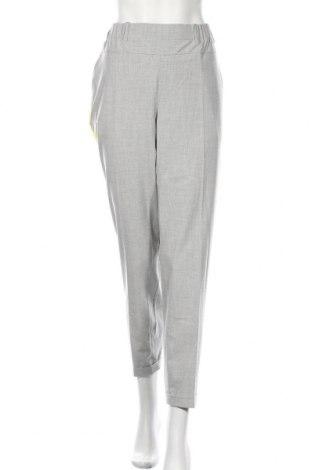 Pantaloni de femei Kaffe, Mărime XL, Culoare Gri, 68% poliester, 28% viscoză, 4% elastan, Preț 335,53 Lei
