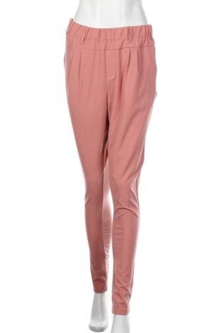 Pantaloni de femei Kaffe, Mărime M, Culoare Roz, 68% poliester, 28% viscoză, 4% elastan, Preț 325,66 Lei