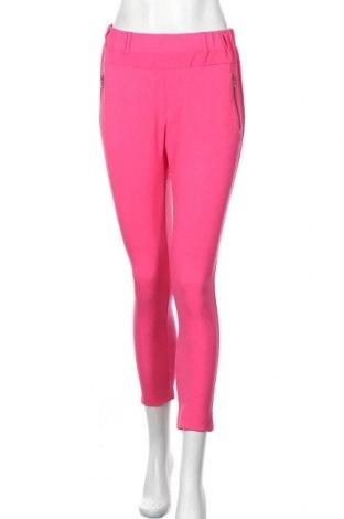 Γυναικείο παντελόνι Kaffe, Μέγεθος S, Χρώμα Ρόζ , 68% πολυεστέρας, 28% βισκόζη, 4% ελαστάνη, Τιμή 22,48€