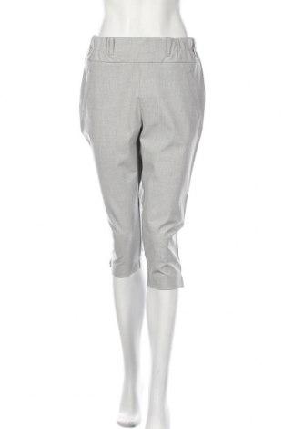 Pantaloni de femei Kaffe, Mărime M, Culoare Gri, 68% poliester, 28% viscoză, 4% elastan, Preț 325,66 Lei