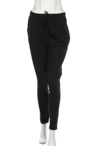 Γυναικείο παντελόνι Kaffe, Μέγεθος M, Χρώμα Μαύρο, 95% βαμβάκι, 5% ελαστάνη, Τιμή 24,16€
