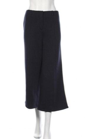 Pantaloni de femei Karen by Simonsen, Mărime M, Culoare Albastru, 79% poliester, 15% viscoză, 6% elastan, Preț 555,92 Lei