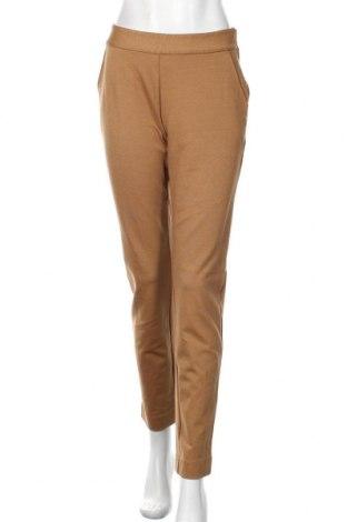 Pantaloni de femei Land's End, Mărime M, Culoare Maro, 40% bumbac, 28% poliamidă, 27% viscoză, 5% elastan, Preț 88,20 Lei