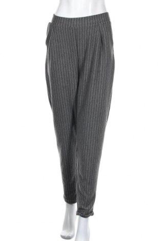 Pantaloni de femei Laura Kent, Mărime XL, Culoare Gri, 60% viscoză, 35% poliester, 5% elastan, Preț 89,53 Lei