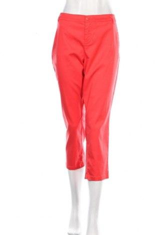 Дамски панталон S.Oliver, Размер L, Цвят Оранжев, 79% лиосел, 18% памук, 3% еластан, Цена 53,40лв.