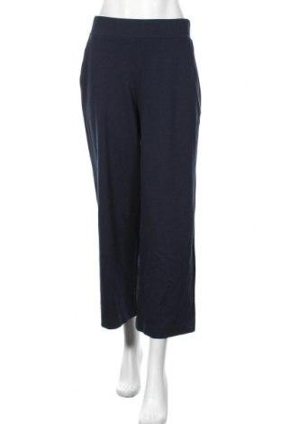 Γυναικείο παντελόνι Tom Tailor, Μέγεθος M, Χρώμα Μπλέ, 76% πολυεστέρας, 21% βισκόζη, 3% ελαστάνη, Τιμή 23,38€
