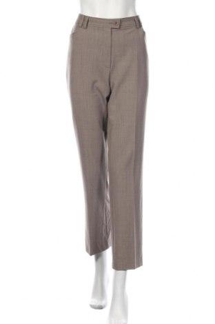 Γυναικείο παντελόνι Toni, Μέγεθος L, Χρώμα  Μπέζ, 54% πολυεστέρας, 44% μαλλί, 2% ελαστάνη, Τιμή 18,19€