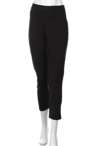 Pantaloni de femei Uniqlo, Mărime L, Culoare Negru, 61% viscoză, 34% poliamidă, 5% elastan, Preț 81,90 Lei