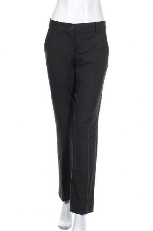 Pantaloni de femei United Colors Of Benetton, Mărime M, Culoare Gri, 62% poliester, 34% viscoză, 4% elastan, Preț 88,20 Lei