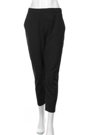 Дамски панталон Zara, Размер M, Цвят Черен, 48% полиестер, 48% вискоза, 4% еластан, Цена 51,75лв.