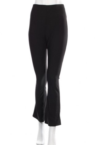 Дамски панталон Zara, Размер XL, Цвят Черен, 96% полиестер, 4% еластан, Цена 30,80лв.