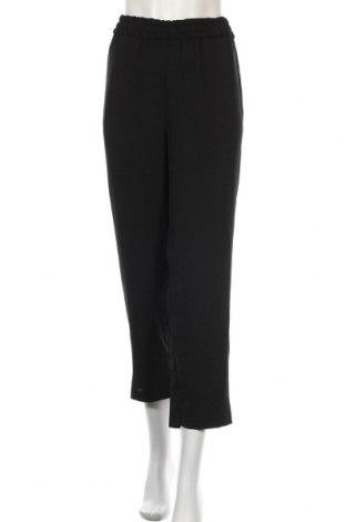 Дамски панталон Zara, Размер XL, Цвят Черен, Полиестер, Цена 30,80лв.