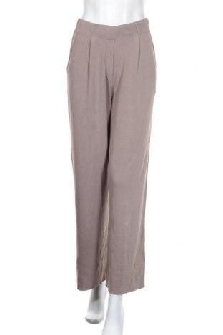 Дамски панталон Zara, Размер M, Цвят Сив, 80% вискоза, 20% полиамид, Цена 37,95лв.