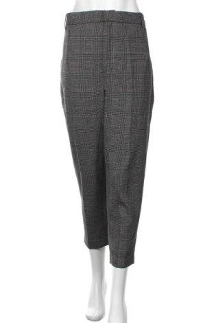 Pantaloni de femei Zara, Mărime XL, Culoare Multicolor, 70% poliester, 29% viscoză, 1% elastan, Preț 68,97 Lei