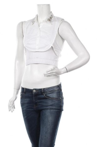 Dekorativní límec Comma,, Velikost S, Barva Bílá, 70% bavlna, 26% polyamide, 4% elastan, Cena  320,00Kč