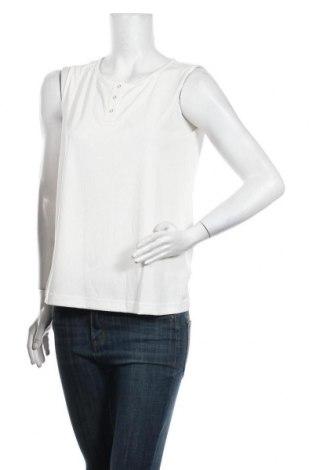 Дамски потник Culture, Размер M, Цвят Бял, 70% модал, 30% полиестер, Цена 31,85лв.