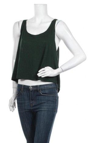 Дамски потник H&M, Размер M, Цвят Зелен, 50% памук, 50% модал, Цена 22,00лв.