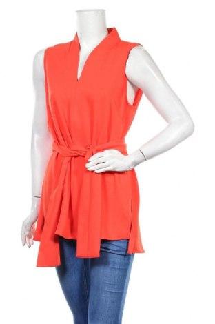 Γυναικείο αμάνικο μπλουζάκι The Mercer N.Y., Μέγεθος L, Χρώμα Πορτοκαλί, Πολυεστέρας, Τιμή 20,88€