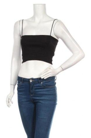 Дамски потник Zara, Размер M, Цвят Черен, 93% памук, 7% еластан, Цена 9,10лв.