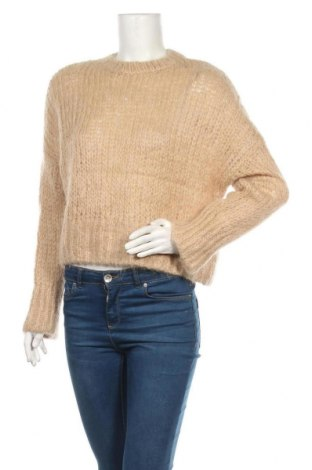 Γυναικείο πουλόβερ & Other Stories, Μέγεθος S, Χρώμα  Μπέζ, 52% μαλλί, 48% μοχαίρ, Τιμή 42,22€