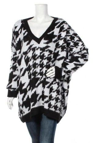 Дамски пуловер ASOS, Размер XL, Цвят Черен, 75% акрил, 25% полиамид, Цена 44,89лв.