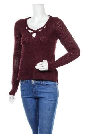 Дамски пуловер Aeropostale, Размер S, Цвят Лилав, 92% акрил, 6% полиестер, 2% други нишки, Цена 26,25лв.