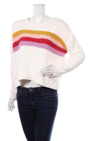 Дамски пуловер Aeropostale, Размер S, Цвят Бял, Полиестер, Цена 22,05лв.
