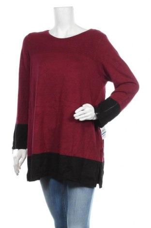 Дамски пуловер Alfani, Размер XL, Цвят Червен, 71% вискоза, 29% полиамид, Цена 43,68лв.