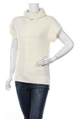 Дамски пуловер Arkitect., Размер M, Цвят Бял, Акрил, Цена 8,40лв.