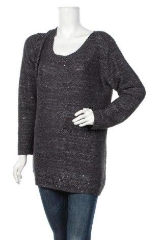 Дамски пуловер Atmosphere, Размер XL, Цвят Сив, 50% акрил, 50% полиестер, Цена 27,30лв.