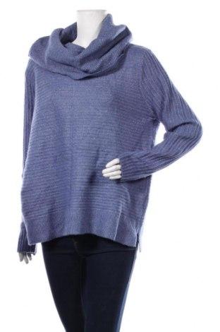 Дамски пуловер Bexleys, Размер L, Цвят Син, 72% полиакрил, 23% полиестер, 5% еластан, Цена 34,65лв.