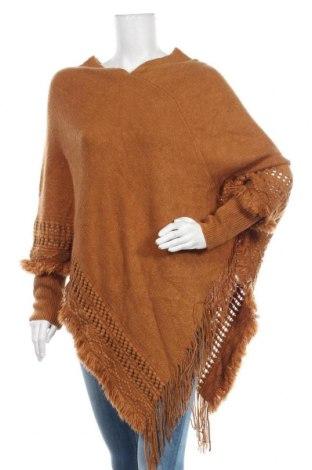 Дамски пуловер Cream, Размер M, Цвят Кафяв, Акрил, Цена 54,50лв.