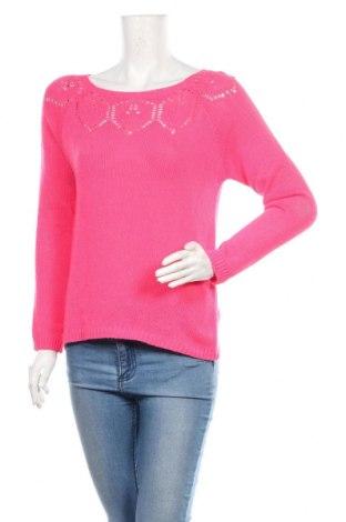 Дамски пуловер Culture, Размер M, Цвят Розов, 50% акрил, 50% памук, Цена 55,50лв.
