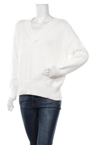 Дамски пуловер Culture, Размер M, Цвят Бял, Цена 55,50лв.