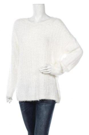 Дамски пуловер Esmara, Размер XL, Цвят Бял, 65% полиамид, 35% полиакрил, Цена 22,05лв.