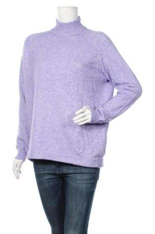 Pulover de femei Gerry Weber, Mărime XL, Culoare Mov, 50% viscoză, 27% poliamidă, 23% poliester, Preț 155,84 Lei