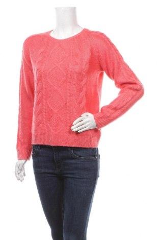 Дамски пуловер H&M, Размер M, Цвят Розов, 90% акрил, 10% мохер, Цена 29,40лв.