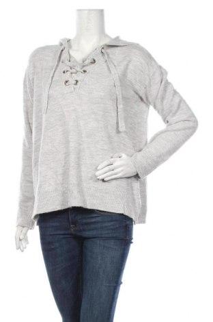 Дамски пуловер H&M L.O.G.G., Размер M, Цвят Сив, 60% акрил, 28% полиамид, 8% вълна, 4% еластан, Цена 26,25лв.