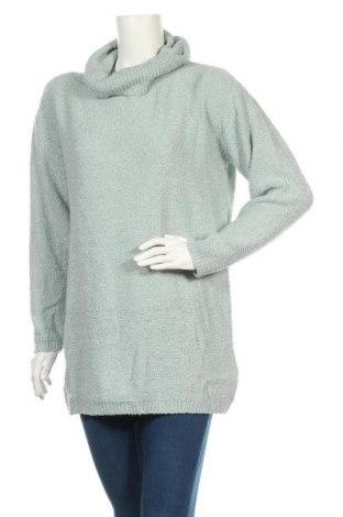 Дамски пуловер Jean Pascale, Размер L, Цвят Зелен, 88% акрил, 12% вълна, Цена 25,94лв.