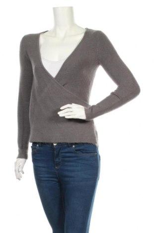 Дамски пуловер Joyx, Размер S, Цвят Сив, 50% вълна, 15% кашмир, 25% акрил, 10% еластан, Цена 23,94лв.
