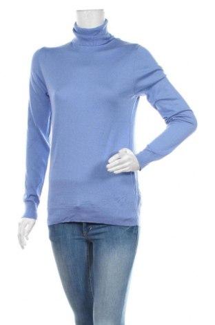 Dámský svetr Massimo Dutti, Velikost L, Barva Modrá, 55% hedvábí, 45% vlna, Cena  893,00Kč