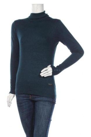 Дамски пуловер TCM, Размер M, Цвят Зелен, 80% вискоза, 18% полиамид, 2% еластан, Цена 30,45лв.
