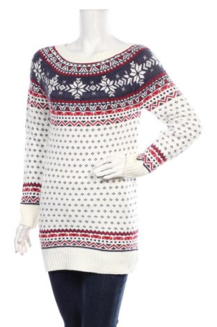 Дамски пуловер Terranova, Размер S, Цвят Бял, Цена 29,40лв.