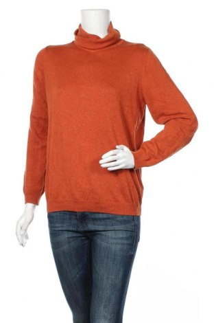 Γυναικείο πουλόβερ Tom Tailor, Μέγεθος L, Χρώμα Πορτοκαλί, 60% βαμβάκι, 40% βισκόζη, Τιμή 31,18€
