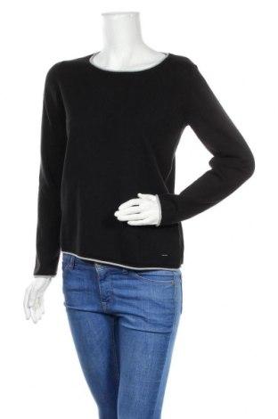 Γυναικείο πουλόβερ Tom Tailor, Μέγεθος XL, Χρώμα Μαύρο, 60% βαμβάκι, 40% βισκόζη, Τιμή 18,09€