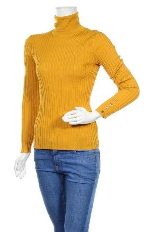 Dámský svetr Tommy Hilfiger, Velikost S, Barva Žlutá, Bavlna, Cena  1651,00Kč
