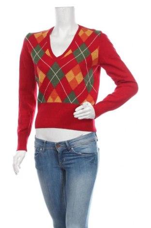 Дамски пуловер United Colors Of Benetton, Размер M, Цвят Червен, Цена 15,02лв.