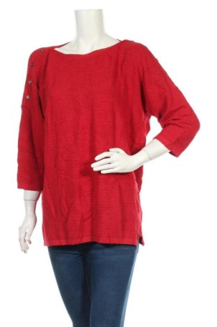 Дамски пуловер Yessica, Размер XL, Цвят Червен, 80% вискоза, 20% полиамид, Цена 24,94лв.